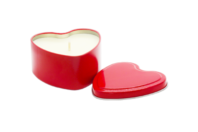 Heart Candle Product Image